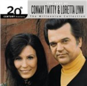 CD The Millennium Collection Loretta Lynn , Conway Twitty