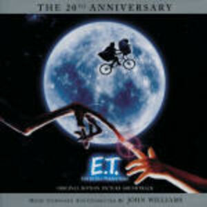 Foto Cover di E.T., CD di John Williams, prodotto da MCA