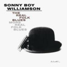 The Real Folk Blues - More Real Folk Blues - CD Audio di Sonny Boy Williamson