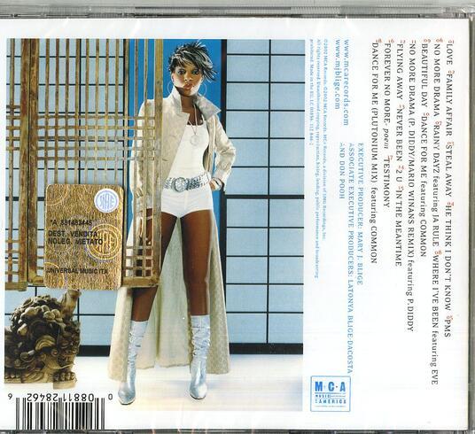 No More Drama (New Version) - CD Audio di Mary J. Blige - 2