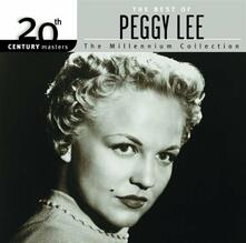 20th Century Masters - CD Audio di Peggy Lee