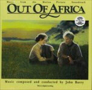 CD Out of Africa (Colonna Sonora)