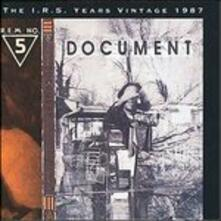Document - CD Audio di REM