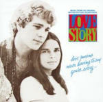 Cover della colonna sonora del film Love Story