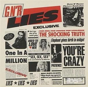 CD Lies di Guns N' Roses