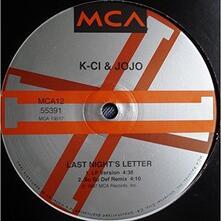 Last Night's Letter - Vinile LP di K-Ci & Jojo