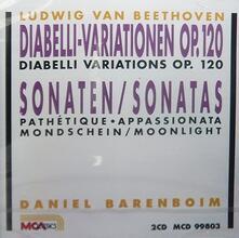 Variazione e fuga op 35 n.1 > n.15 'Eroica' - CD Audio di Ludwig van Beethoven