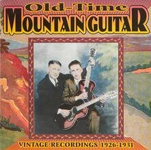 Old-Time Mountain Guitar - CD Audio
