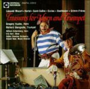 Foto Cover di Treasures for Horn &, CD di  prodotto da Crystal