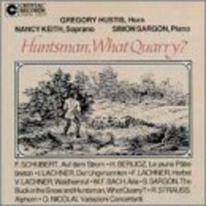 CD Huntsman, What Quarry ?