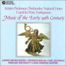 Music of the Early 19th - CD Audio