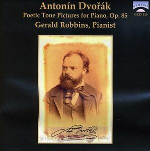 CD Poetic Tone Pictures Op85 di Antonin Dvorak