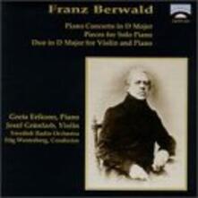 Duo in D; Concerto for.. - CD Audio di Franz Adolf Berwald