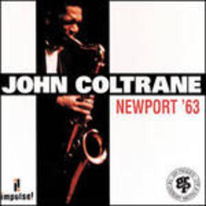 CD Newport '63 di John Coltrane