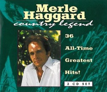 CD 36 All-Time Greatest Hits di Merle Haggard