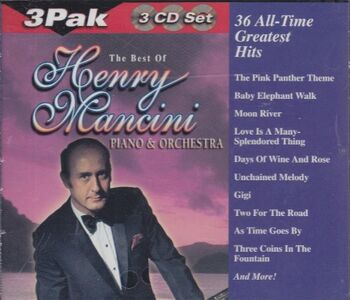 Foto Cover di 36 All-Time Greatest Hits, CD di Henry Mancini, prodotto da Edi