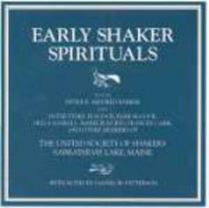 Early Shaker Spirituals - CD Audio di Sister Mildred Barker