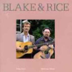 Blake & Rice - CD Audio di Norman Blake,Tony Rice