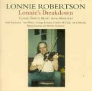 CD Lonnie's Breakdown di Lonnie Robertson