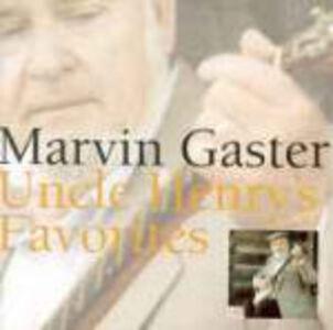 CD Uncle Henry's Favorites di Marvin Gaster