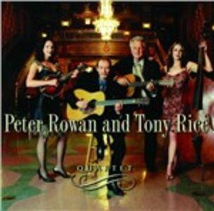 CD Quartet Peter Rowan , Tony Rice