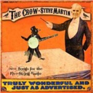 Vinile Crow. New Songs for the Five Strings Banjo Steve Martin