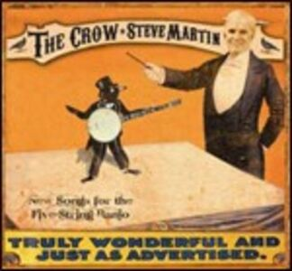 CD The Crow di Steve Martin
