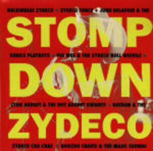 Stomp Down Zydeco - CD Audio
