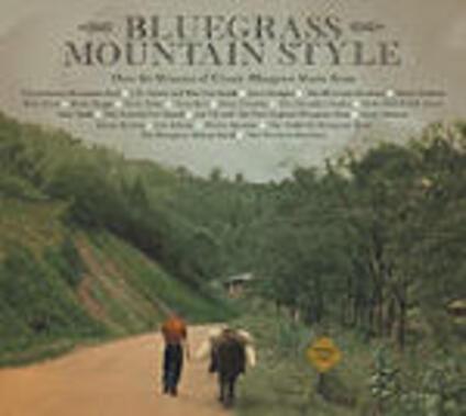 Bluegrass Mountain Style - CD Audio