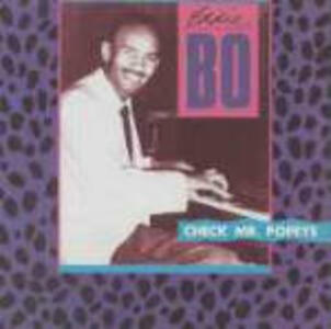 Check Mr. Popeye - CD Audio di Eddie Bo