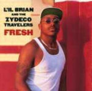 CD Fresh Zydeco Hi-Rollers , L'il Brian