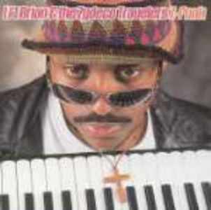 CD Z-Funk L'il Brian , Zydeco Travelers
