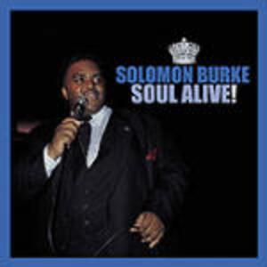 Soul Alive! - CD Audio di Solomon Burke