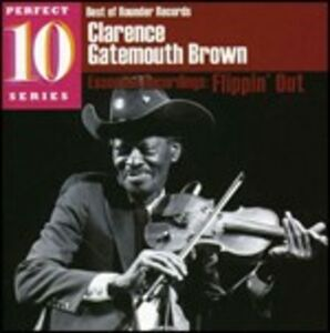 CD Flippin' Out di Clarence Gatemouth Brown