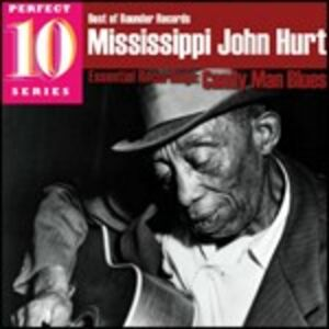CD Candy Man Blues di Mississippi John Hurt