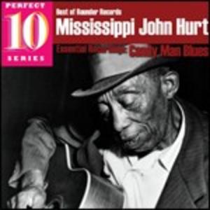 CD Candy Man Blues di Mississippi John Hurt