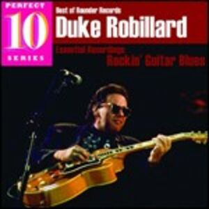 CD Rockin' Guitar Blues di Duke Robillard