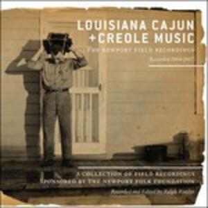 Louisiana Cajun and Creole Music - CD Audio