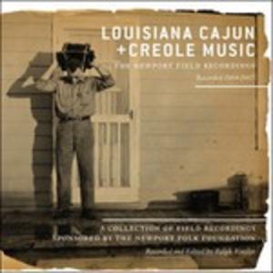 CD Louisiana Cajun and Creole Music