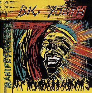 Foto Cover di Manifestation, CD di Big Youth, prodotto da Heartbeat