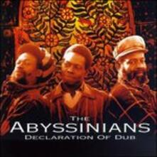 Declaration of Dub - CD Audio di Abyssinians