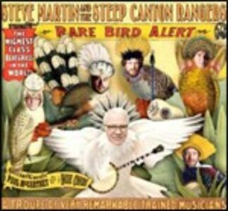 CD Rare Bird Alert Steve Martin , Steep Canyon Rangers
