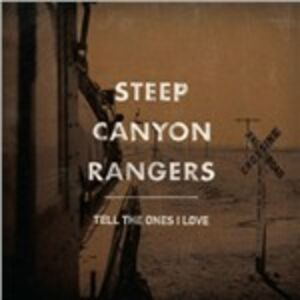 CD Tell the Ones I Love di Steep Canyon Rangers