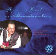 Blues Guitar Virtuoso Live In - CD Audio di Ronnie Earl