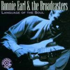 CD Language of Soul di Ronnie Earl 0