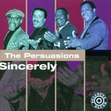 Sincerely - CD Audio di Persuasions