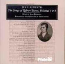 Songs of Robert Burns vol.5-6 - CD Audio di Jean Redpath