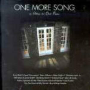 One More Song - CD Audio