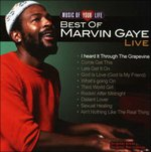 CD The Best of Live di Marvin Gaye