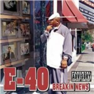 CD Breakin News di E-40